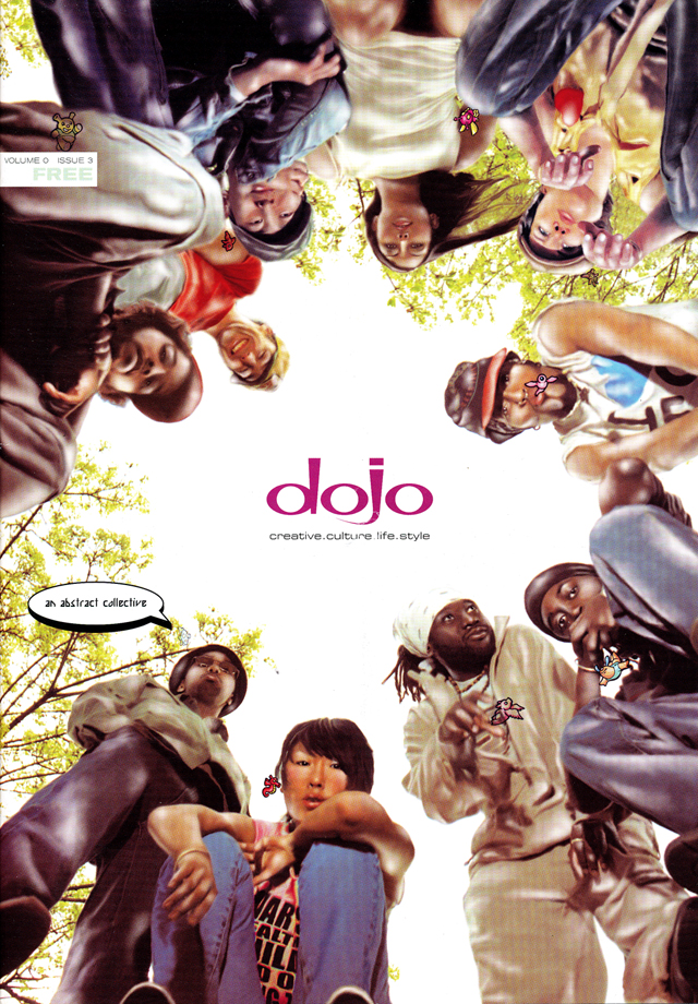Dojo Cover shot by Mara Ambrose with illustration by Jeremy Bennison